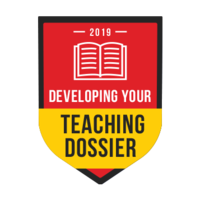 Developing your Teaching Dossier