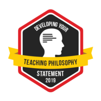 Developing your Teaching Philosophy Statement
